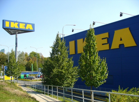 IKEA Sign tower